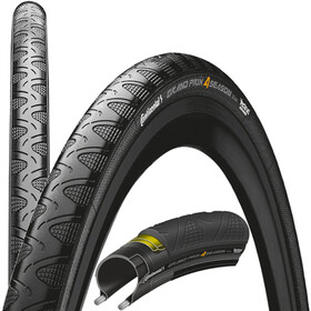 Continental Grand Prix 4-Season Folding Tyre 28 DuraSkin Black Edition black